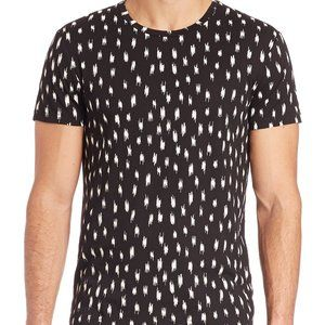J. Lindeberg  Feathers Graphic Snug Jersey Tee L